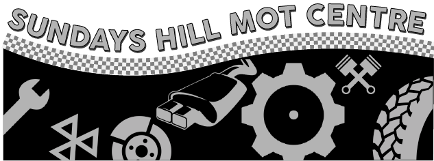 Sundays Hill MOT Centre Logo